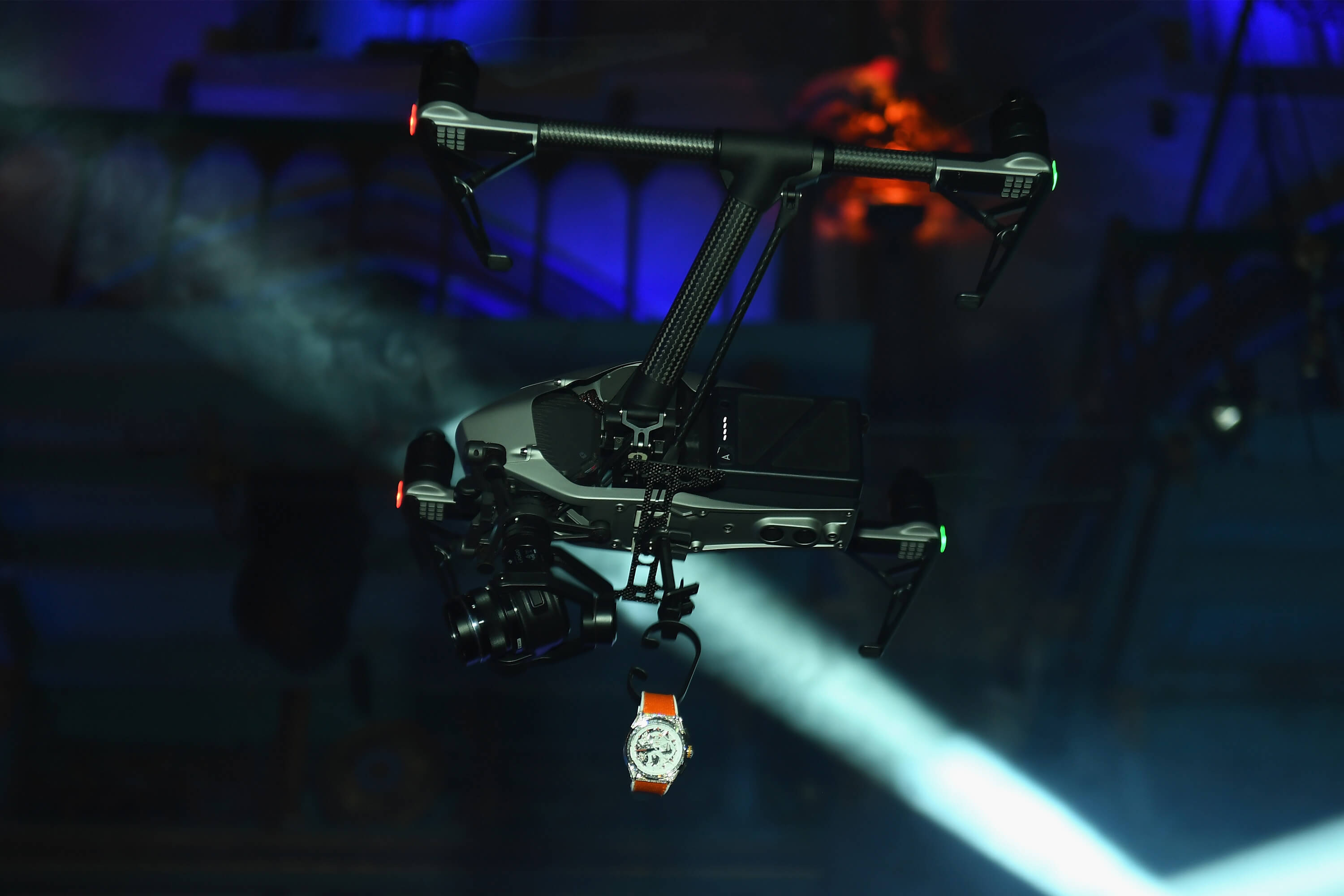 ZENITH - Drone and Watch - Getty Images