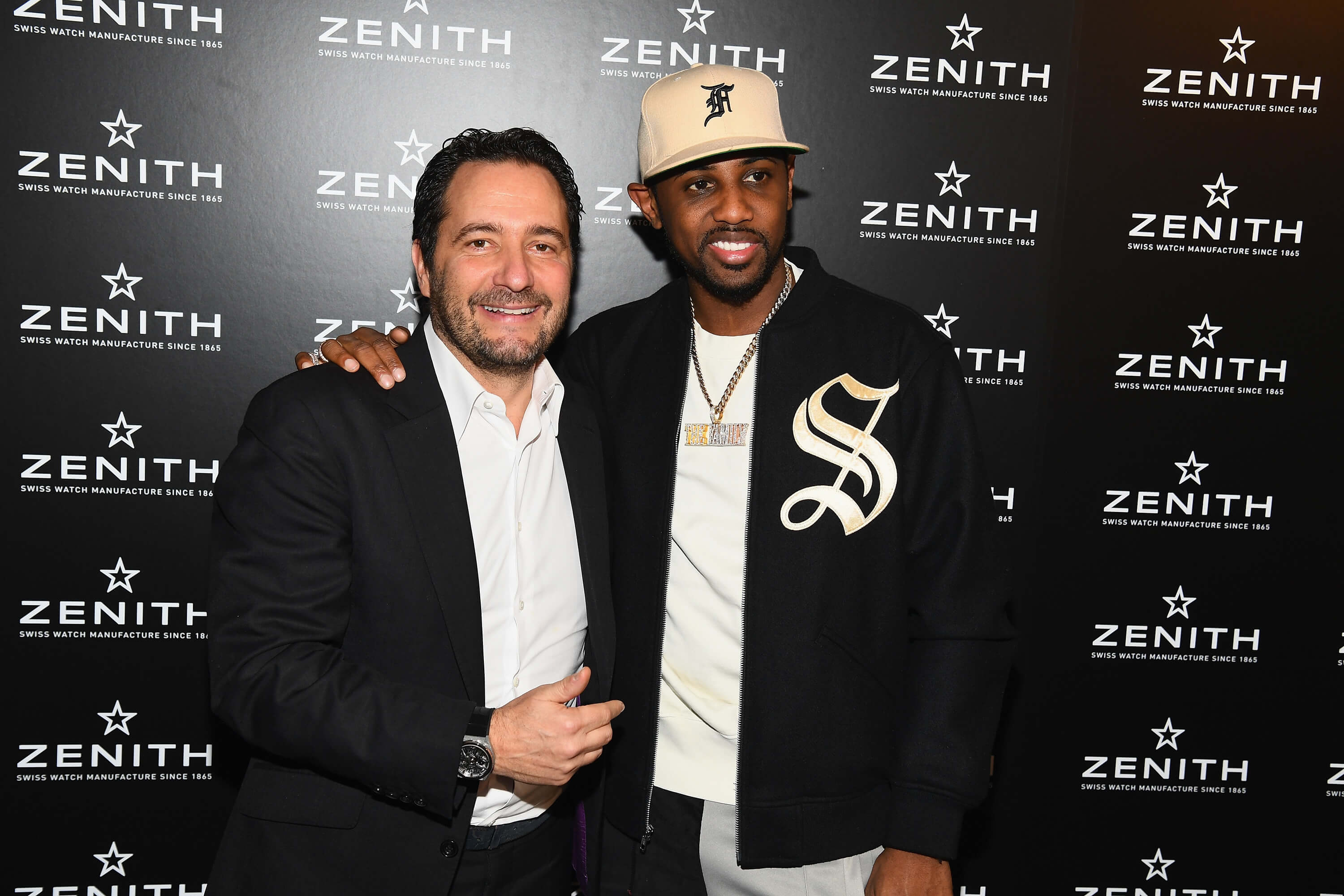 ZENITH - Julien Tornare, CEO of Zenith and rapper Fabulous - Getty Images