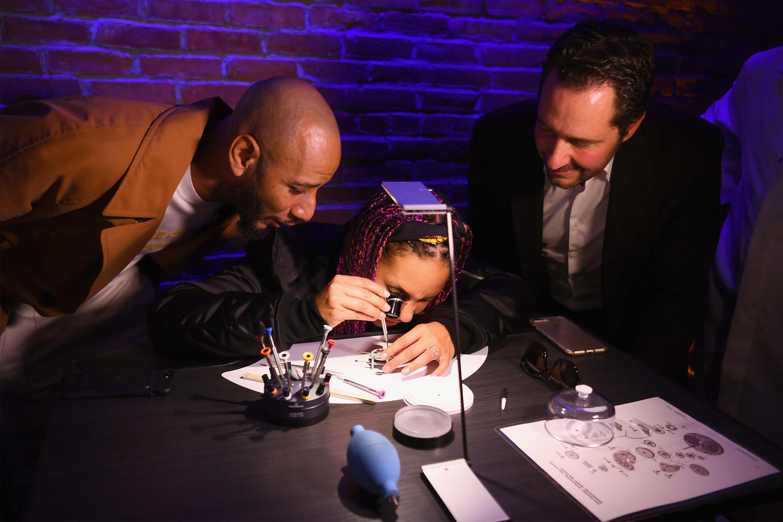 ZENITH - Swizz Beatz, Alicia Keys and Julien Tornare - getty Images
