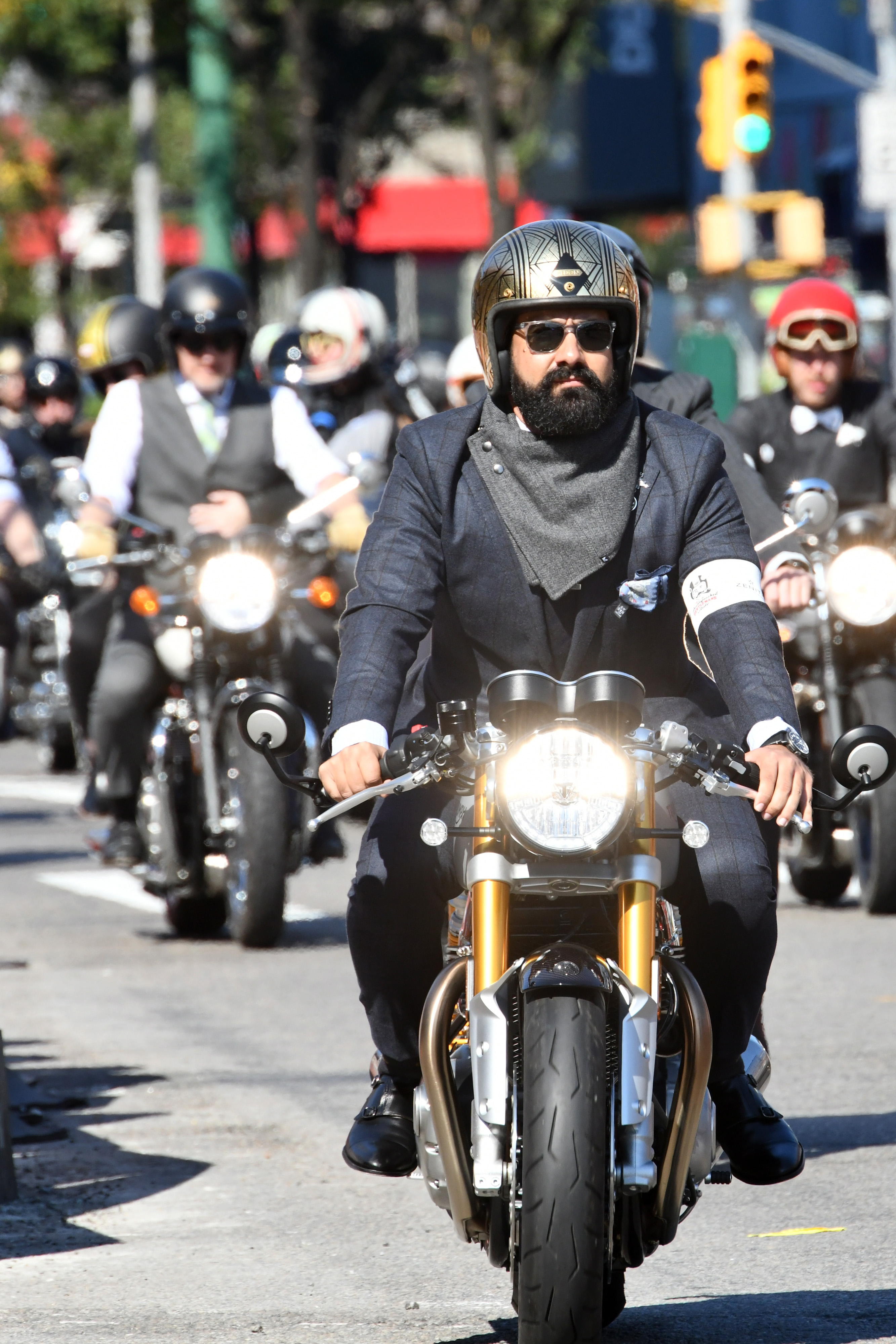 The 2018 Distinguished Gentleman's Ride In Partnership With Zenith
