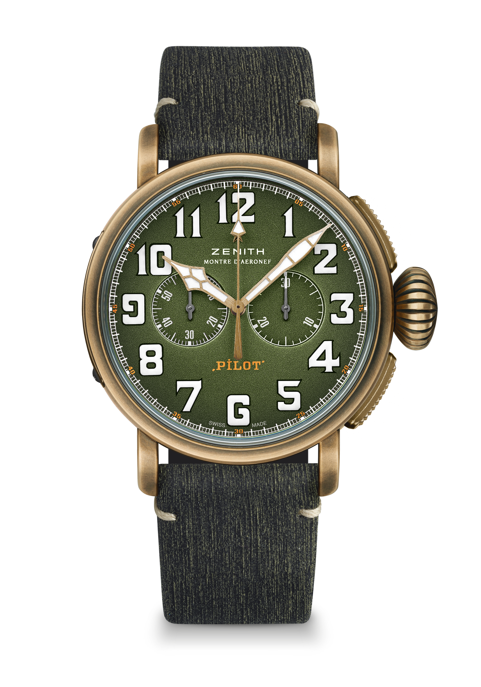 ZENITH_Pilot Type 20 Chronograph Adventure matrix bracelet