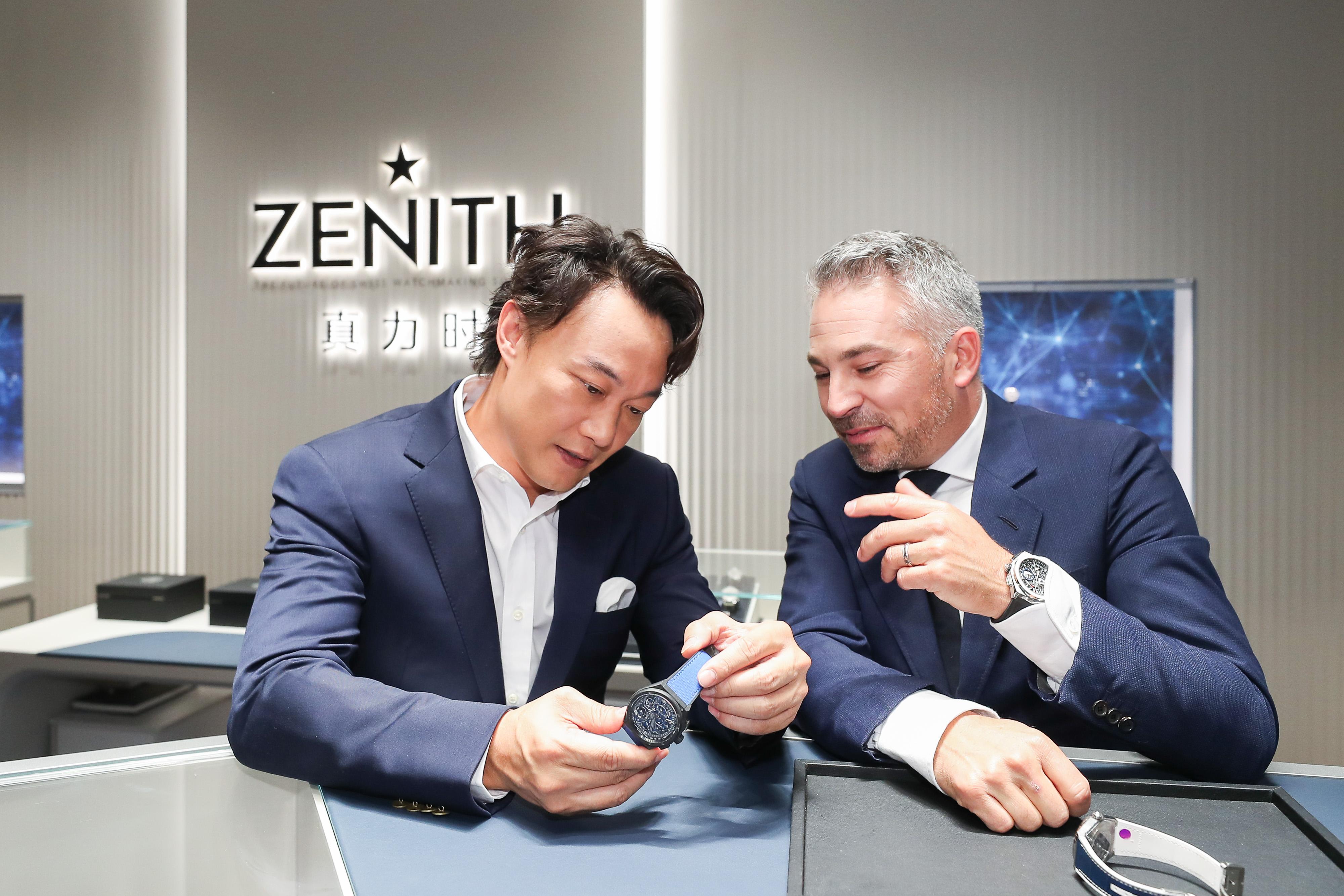 Zenith_boutique opening Zhengzhou (5)