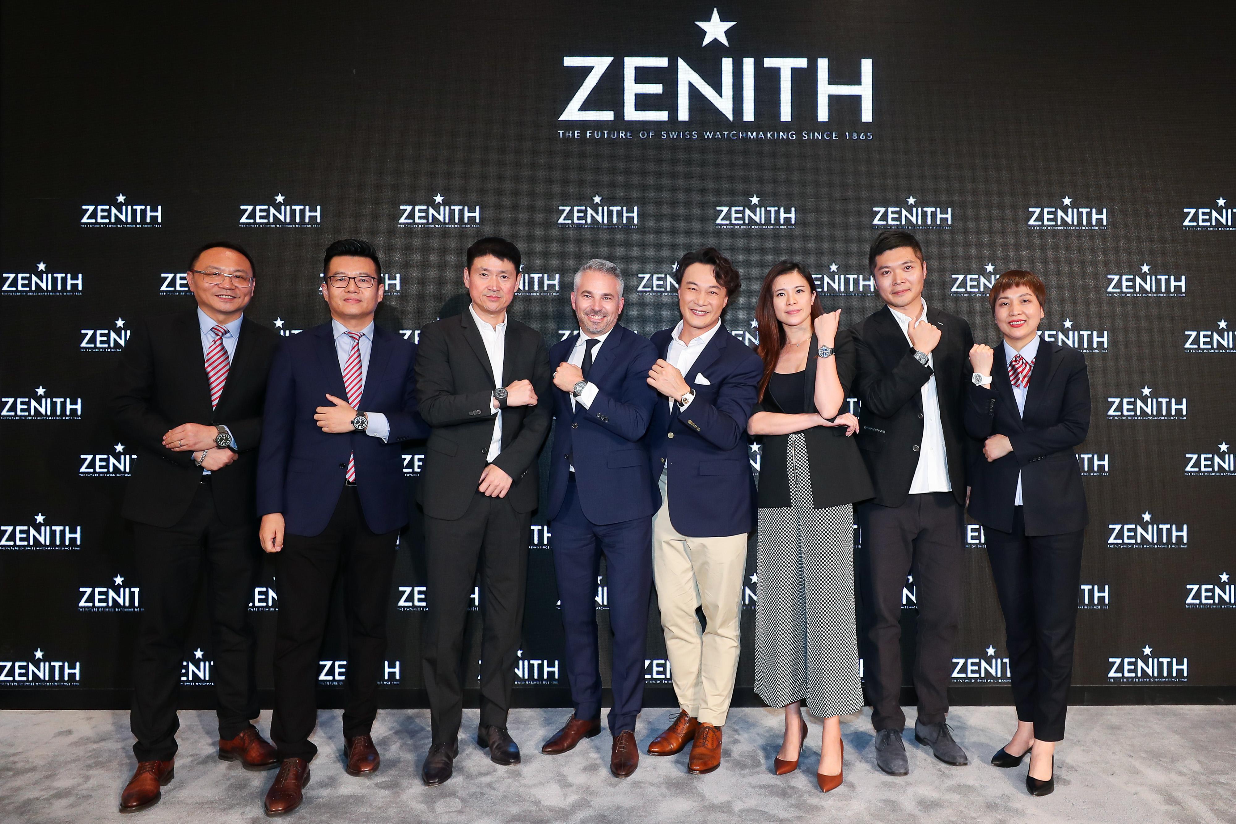 Zenith_boutique opening Zhengzhou (8)