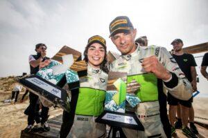 Jamie Chadwick (GBR)/Stephane Sarrazin (FRA), Veloce Racing with trophy